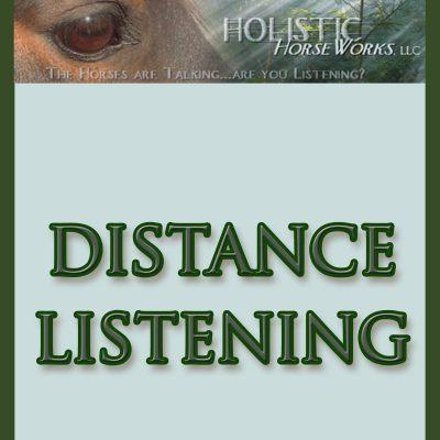 Distance Listening