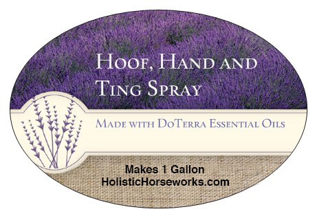 Hoof Hand and Ting Spray for horses